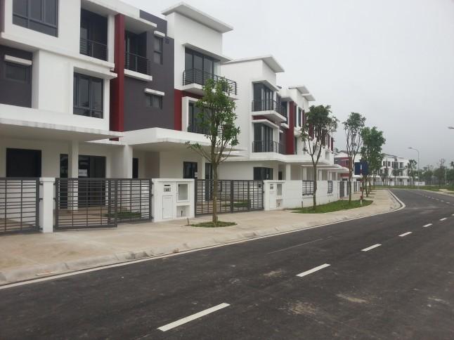 Dịch vụ thiết kế thi công hoàn thiện biệt thự Gamuda xây thô