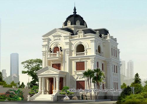 Tư vấn thiết kế biệt thự Pháp ở Quảng Bình