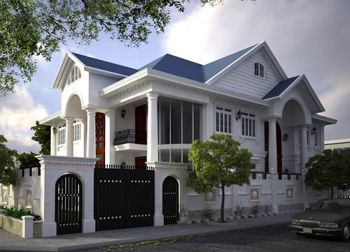 Thiết kế biệt thự sân vườn của doanh nhân đất Cần Thơ