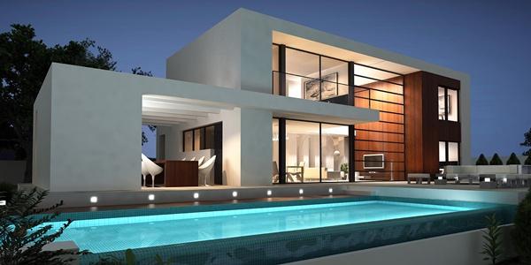 Thiết kế biệt thự đẹp diện tích đất 10x38m có bể bơi