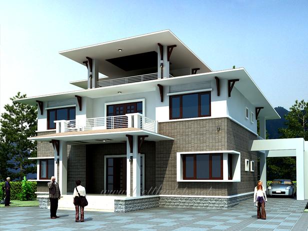 Chuyên thiết kế nhà,thi công nhà ở dân dụng tại Gia Lâm
