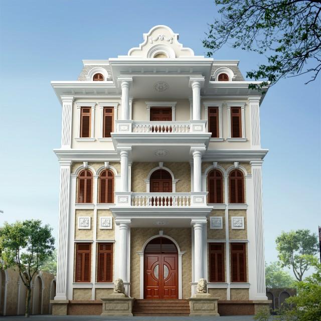 Thiết kế biệt thự tại Hà Nội