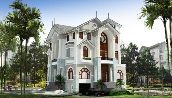 Thiết kế biệt thự tại Bắc Giang