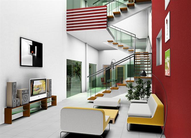 Nên sử dụng cầu thang vuông hay tròn trong nhà?