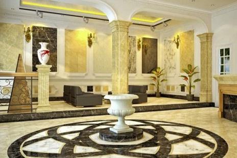 Xu hướng sử dụng đá tự nhiên trong thiết kế nội thất biệt thự