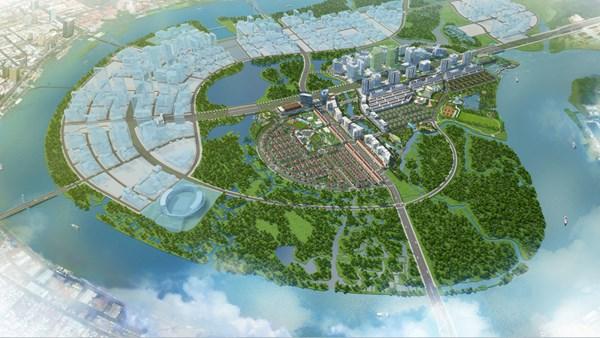 Quy hoạch chi tiết Vùng châu thổ phía Nam thuộc KĐT mới Thủ Thiêm