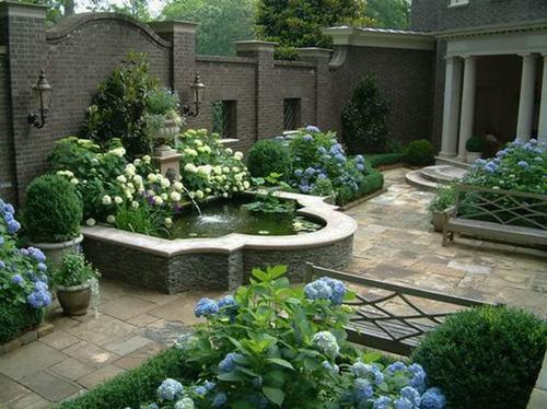 Chiêm ngưỡng không gian xanh của vườn biệt thự