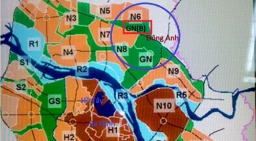 Hà Nội điều chỉnh quy hoạch phân khu đô thị GN, tỷ lệ 1/5000