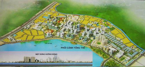 Công bố quy hoạch chi tiết tỷ lệ 1/500 KĐTM Nam hồ Linh Đàm