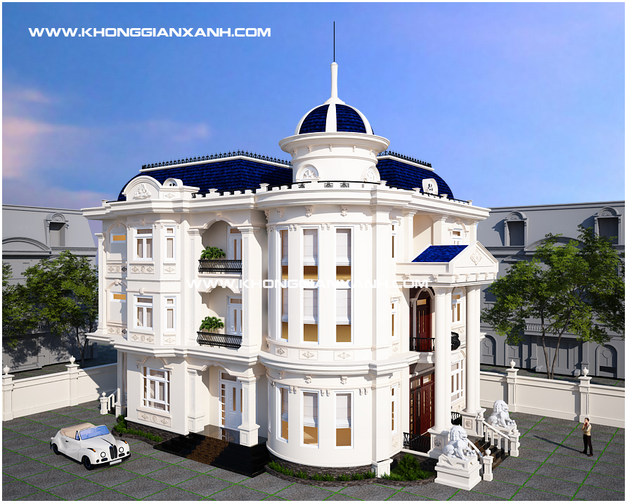 Thiết kế biệt thự đẹp tại Vũng Tàu