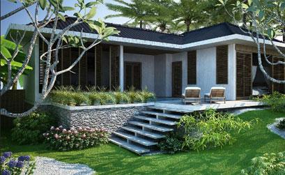 Thiết kế nhà vườn nhỏ xinh với kinh phí dưới 1 tỷ