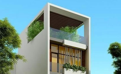 Mẫu thiết kế nhà ống đẹp cho mùa xây nhà năm 2015