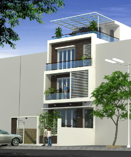 Chuyên thiết kế nhà phố, thiết kế biệt thự hiện đại tại Hà Nội