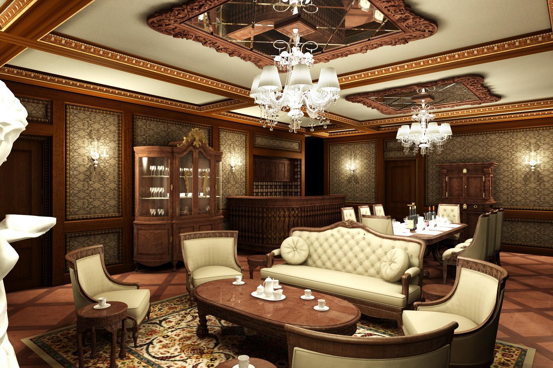 Thiết kế thi công nội thất biệt thự cổ điển trọn gói