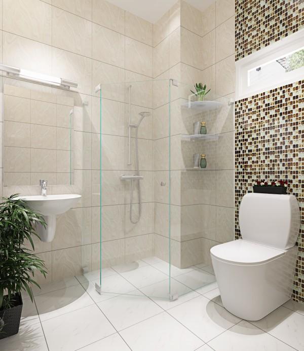 Cách lựa chọn vật liệu phòng tắm kính